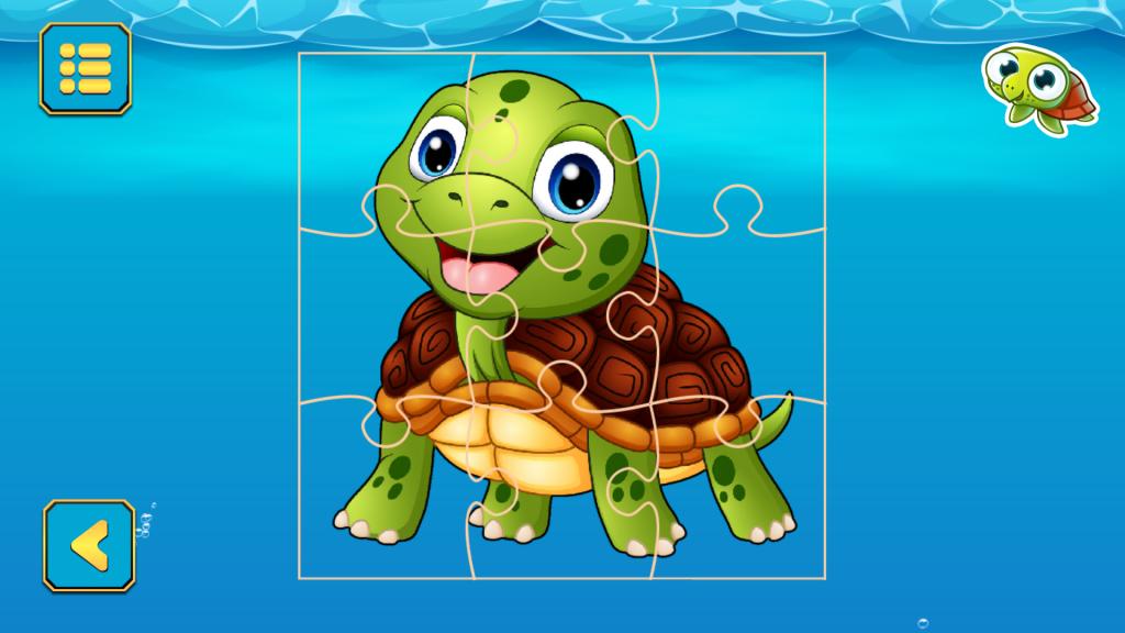 Zdjęcie Cute Turtle Jigsaw Puzzles