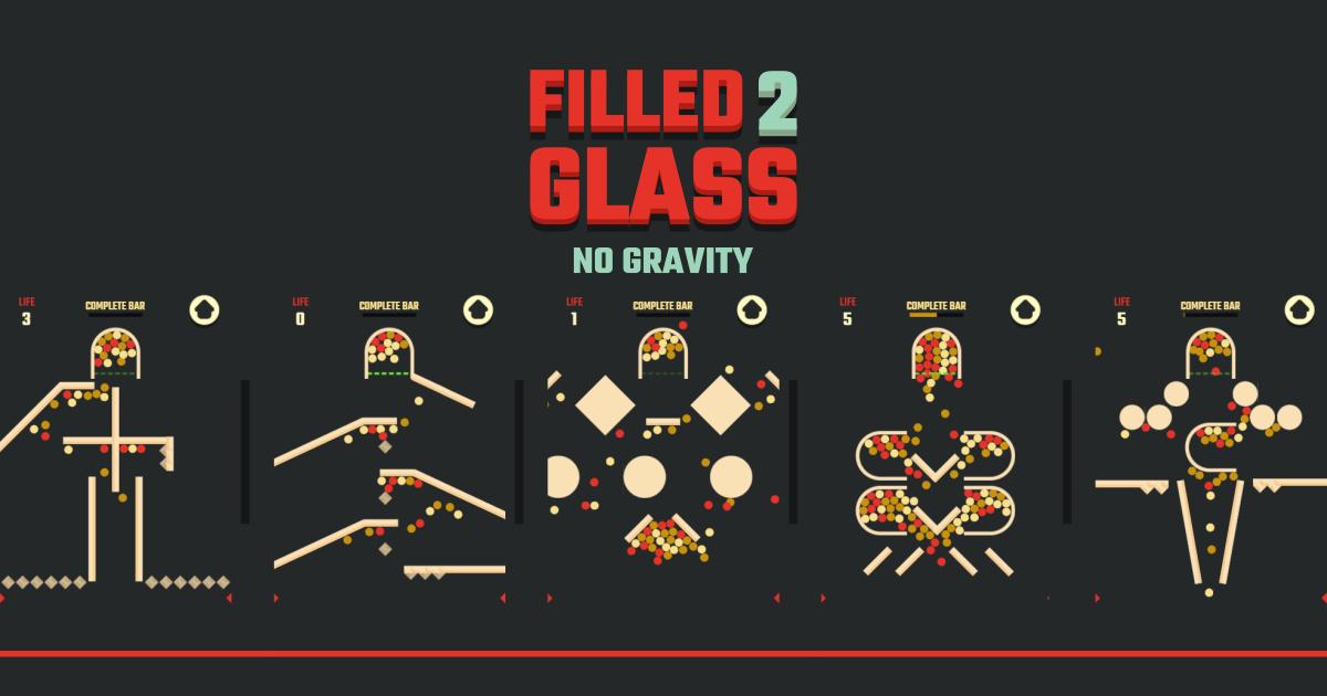 Zdjęcie Filled Glass 2 No Gravity