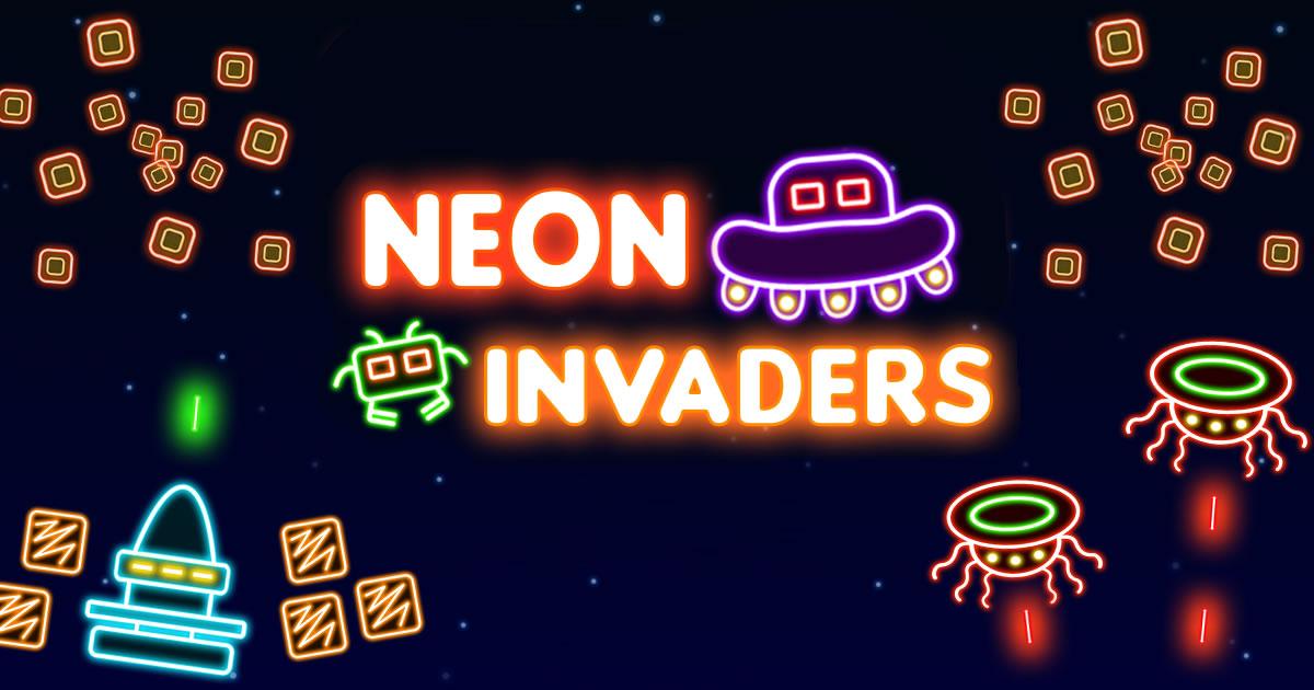 Zdjęcie Neon Invaders