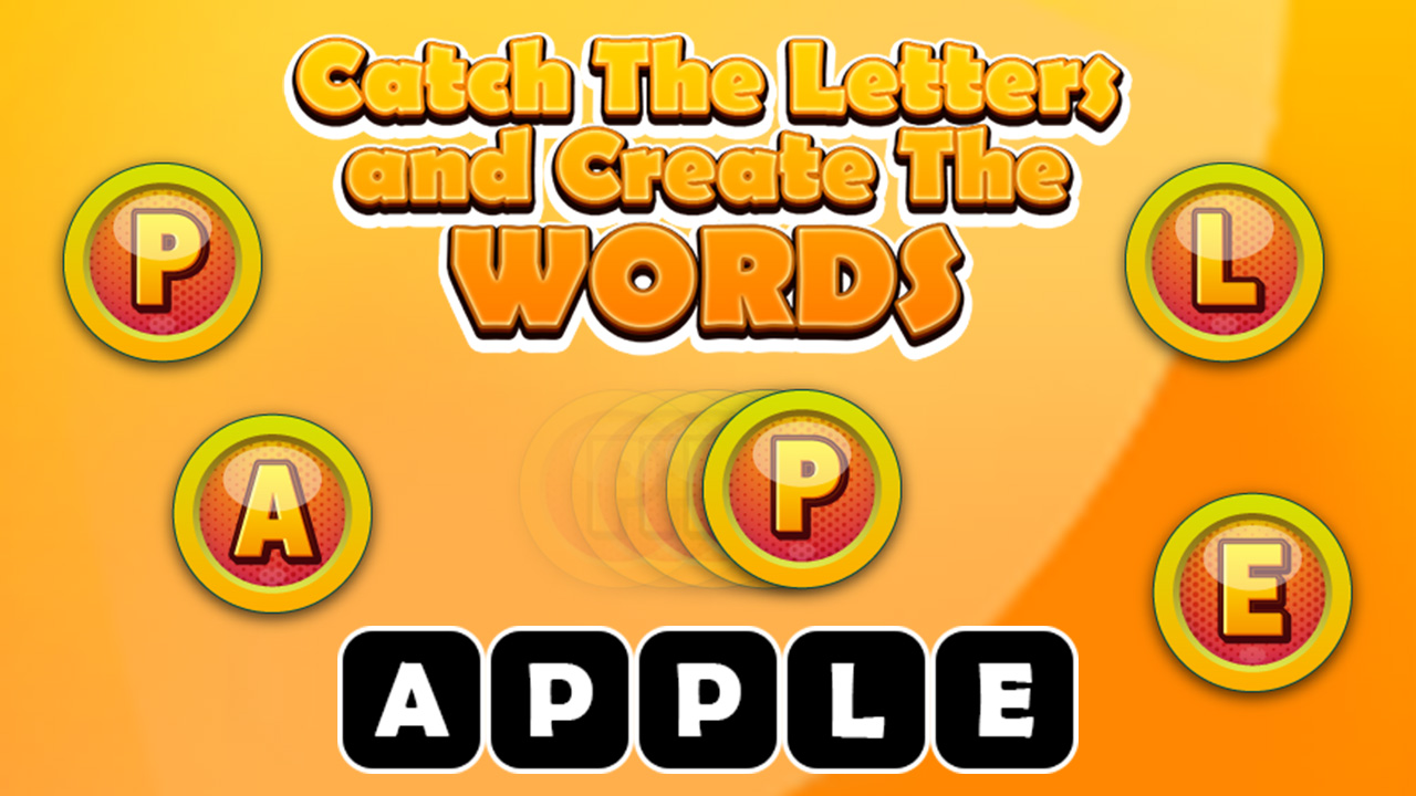 Zdjęcie Catch The Letters and Create The Words