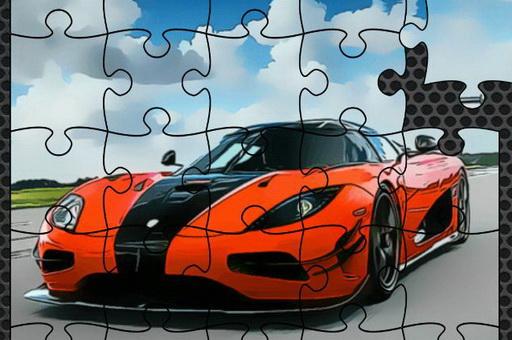 Zdjęcie Luxury Swedish Cars Jigsaw
