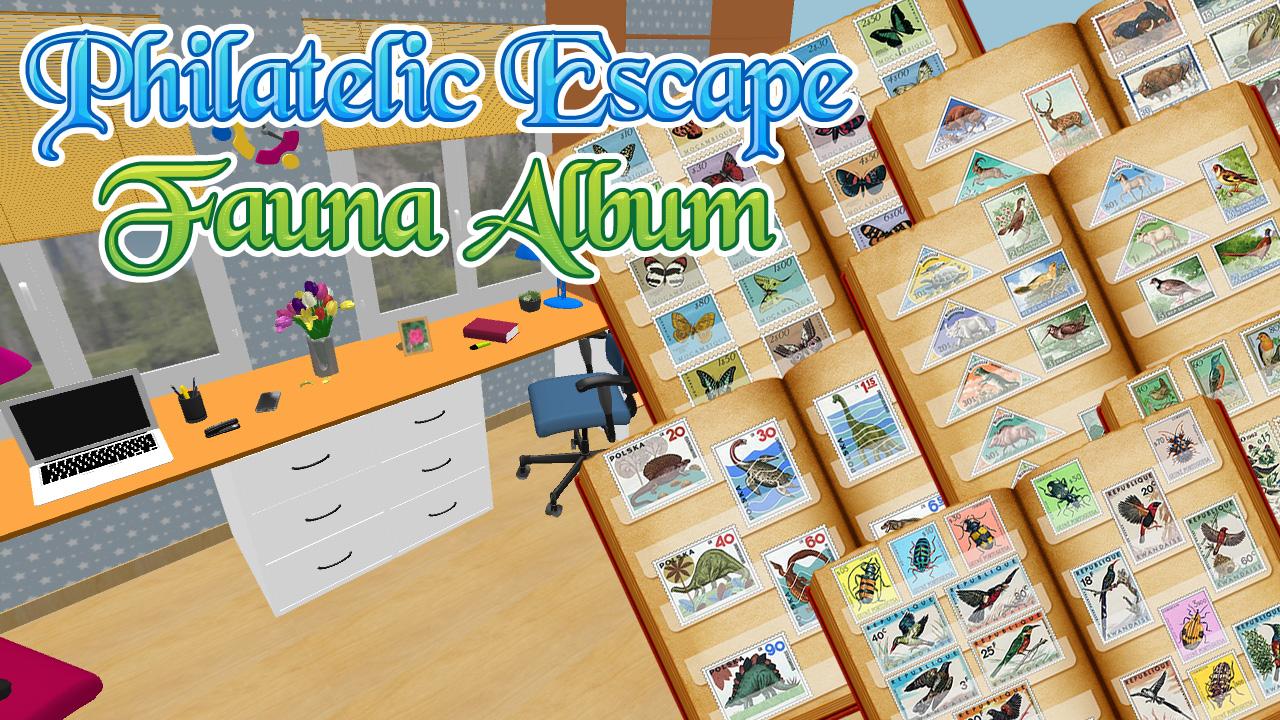 Zdjęcie Philatelic Escape Fauna Album