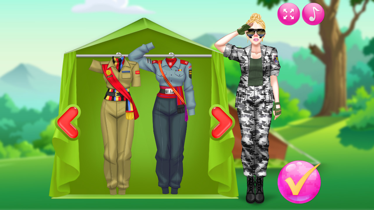 Zdjęcie Princess Military Fashion