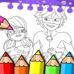 Miraculous Ladybug Coloring Book